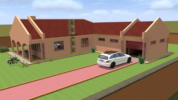3D HOUSE DESIGN - Building Plans - Harare - Zimbabwe on