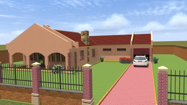 Plan of houses in zambia modern house for Best house designs in zimbabwe