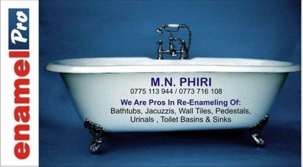 bath re enamelling experts - bathroom & related - harare - zimbabwe